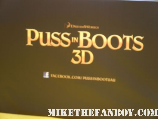 D-Man Heads Out To The Australian Premiere of Puss In Boots and Meets Antonio Banderas and Salma Hayek!