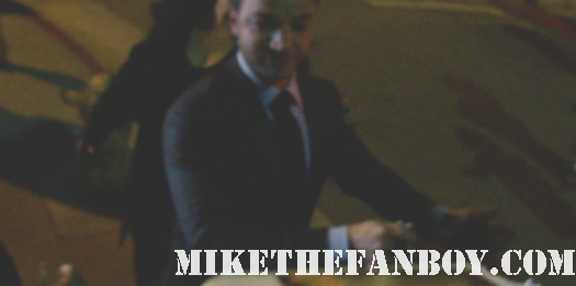 Nick Tarabay signing autographs at the spartacus vengeance world movie premiere rare hot sexy