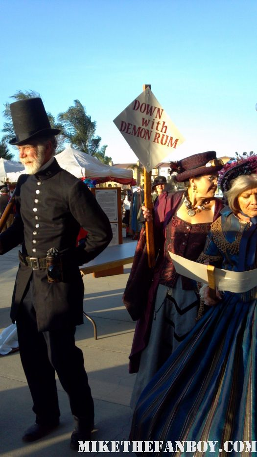 Victorian Costumes at the 2012 riverside dickens festival rare hot promo the novel strumpet