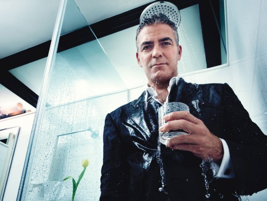 george clooney w magazine hot photo shoot from best performances 2012 issue rare ides of march descendants