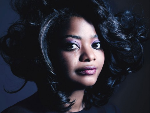 octavia spencer in w magazines best performances issue hot sexy the help star photo shoot rare promo