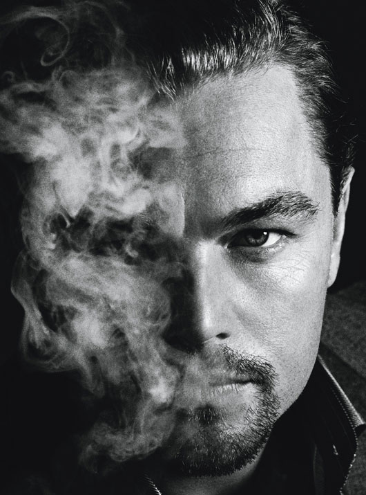 LEONARDO DICAPRIO IN J. EDGAR hot sexy smoldering photo shoot w magazine best performances issue 2012 rare promo
