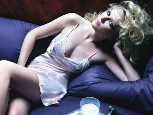 KIRSTEN DUNST IN MELANCHOLIA rare hot sexy lingerie photo shoot for w magazine rare promo bring it on