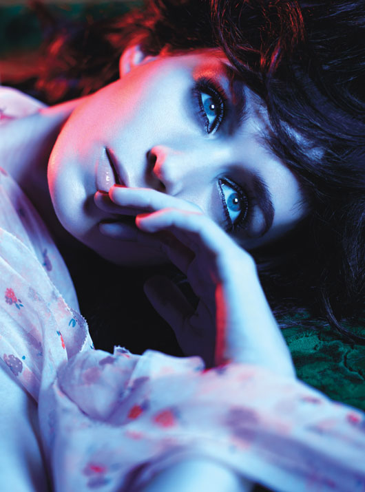 Rooney Mara In The Girl With The Dragon Tattoo  w magazine rare hot and sexy photo shoot rare promo w magazine best movie performances 2012