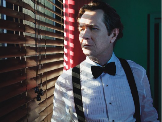 GARY OLDMAN IN TINKER, TAILOR, SOLDIER, SPY w magazine sexy photo shoot rare promo batman dark knight rises 5th element
