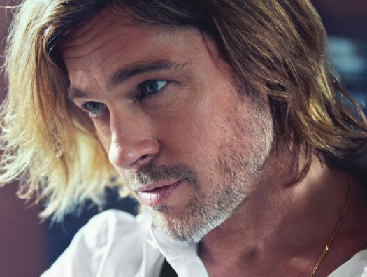 brad pitt hot sexy photo shoot rare promo w magazine best performances shirtless hot sexy damn fine chest hair