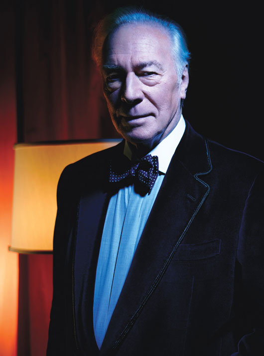 Christopher Plummer in Beginners and The Girl With The Dragon Tattoo rare photo shoot promo best performances w magazine
