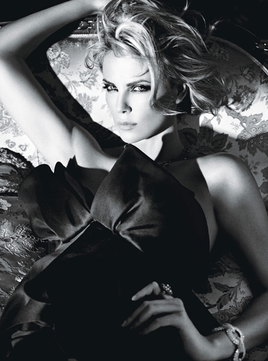 CHARLIZE THERON IN YOUNG ADULT hot and sexy photo shoot for w magazines best performances issue rare young adult star snow white and the huntsman