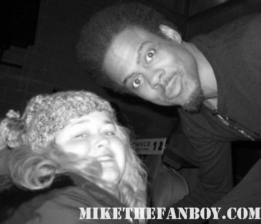 chris rock poses with pretty in pink at the sundance film festival 2012 rare hot grown ups star
