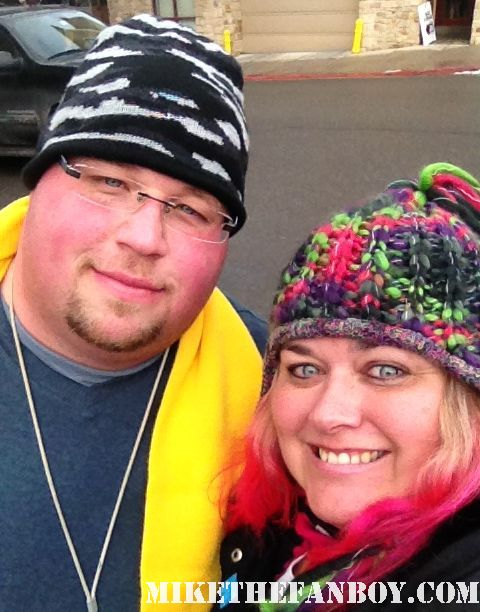 chuck our man from texas from mike the fanboy meets pinky at the sundance film festival 2012