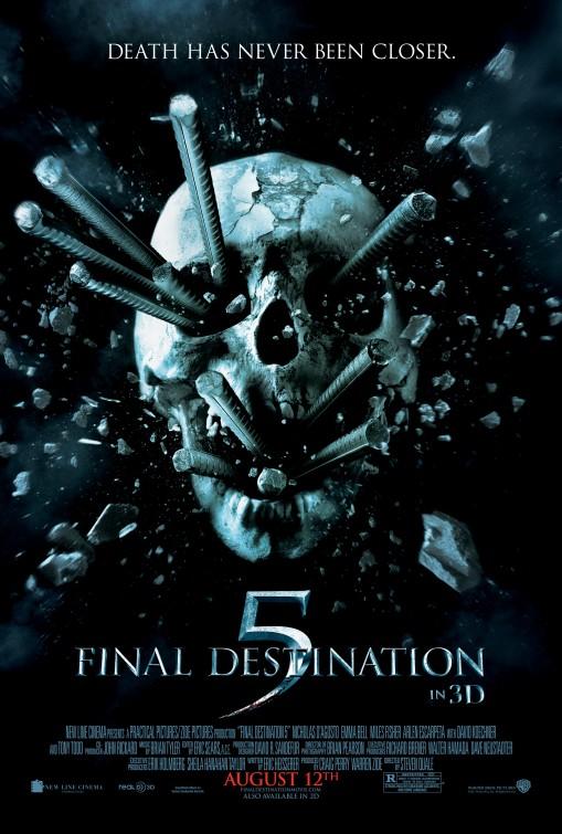final_destination_five_ver2 final destination 5 rare promo one sheet movie poster hot sexy frat boys being killed