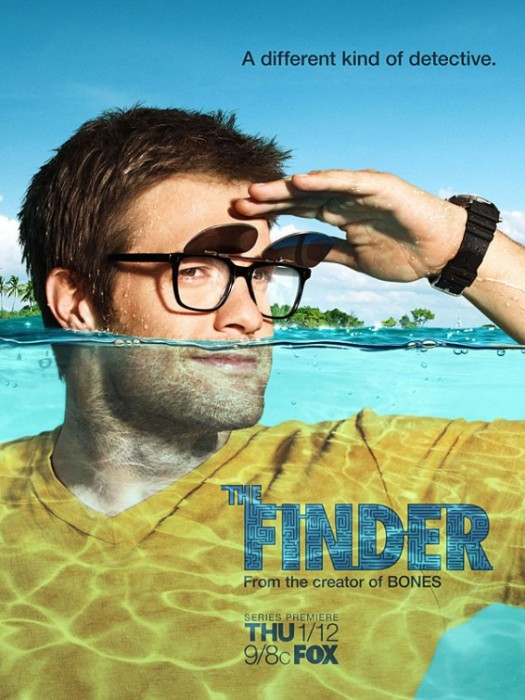 Geoff Stults stars in the finder rare promo bones spin off promo poster hot rare sexy hairy chest hot fox