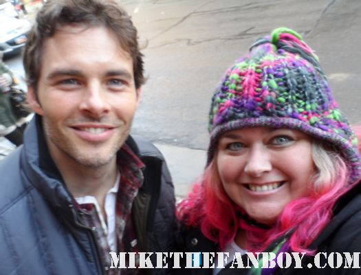pretty in pink with enchanted star sexy james marsden at sundance film festival 2012 rare sexy prince