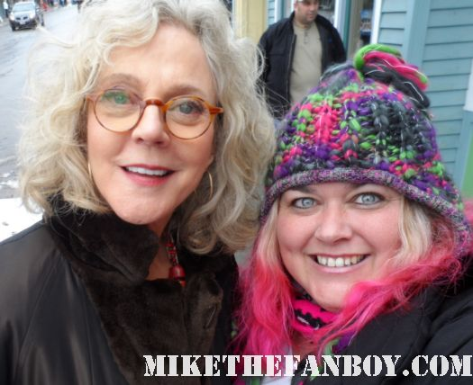pretty in pinky with gwenyth paltrow's mom ms. blythe danner meet the parents rare signed autograph sundance film festival 2012