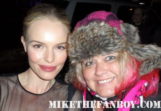 pretty in pinky with superman returns star kate bosworth at the sundance 2012 fllm festival rare fan photo
