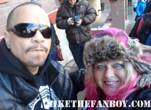 pretty in pinky with Ice-T aka Mr. T at the sundance 2012 fllm festival rare fan photo hot sexy rapper