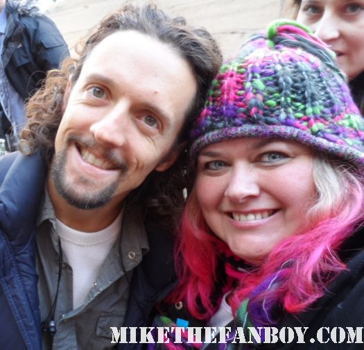 pretty in pinky with singer jason mraz at the sundance film festival 2012 rare promo signed autograph