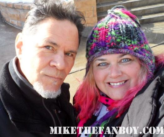 pinky from mike the fanboy with soap opera actor a martinez at the sundance film festival 2012