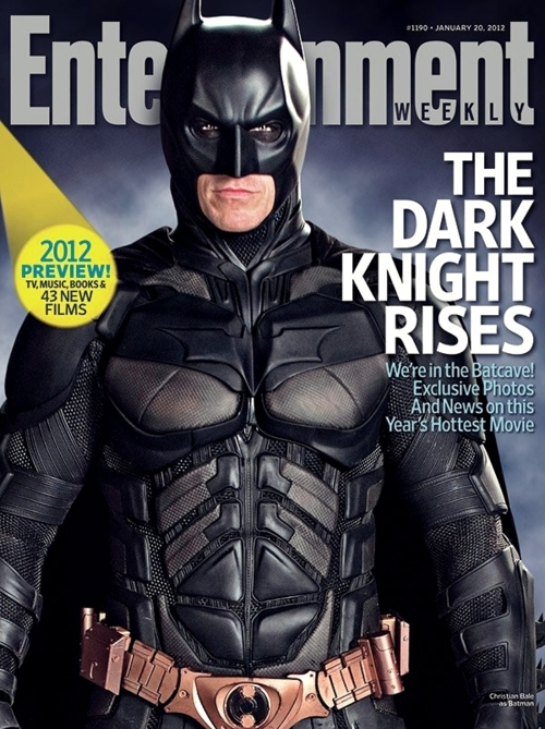 christian bale as batman in the dark knight rises rare promo entertainment weekly magazine cover 2012 issue rare