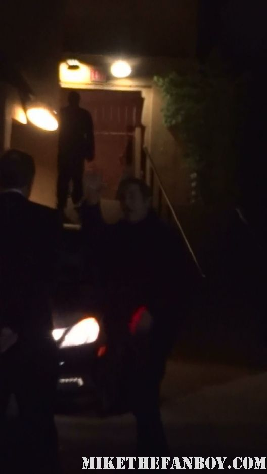 mel gibson arriving to a screening of the Road warrior in hollywood at the egyptian theatre in hollywood waving to fans