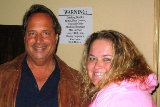 jon lovitz poses for a fan photo with pinky at the sundance film festival 2012 signed autograph rare promo