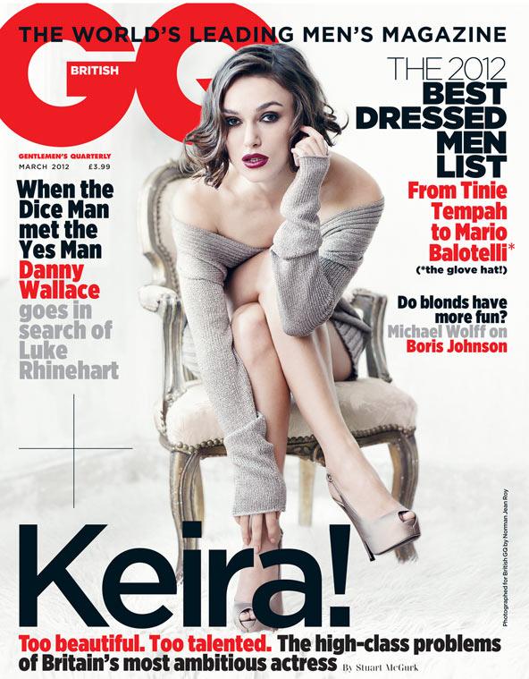 BritishGQMarch2012-KeiraKnightley hot and sexy photo shoot rare promo british GQ magazine kiera knightly march 2012 sexy magazine cove photo shoot
