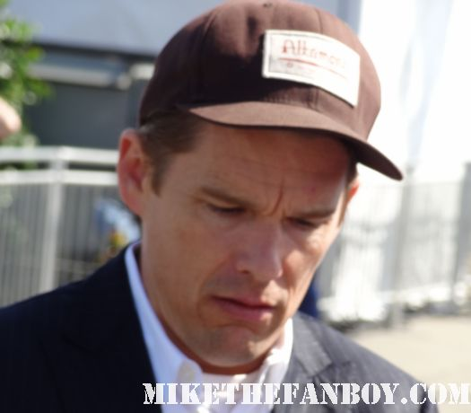 ethan hawke now  hot sexy signs autographs for fans at the  Independent Spirit Awards 2012