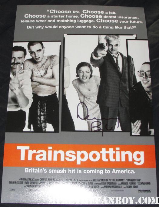 trainspotting rare promo mini movie poster danny boyle hot sexy awesome director promo rare