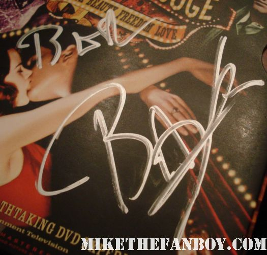 moulin rouge signed autograph dvd cover by Baz Luhrmann iconic director strictly ballroom romeo and juliet australia hot rare promo