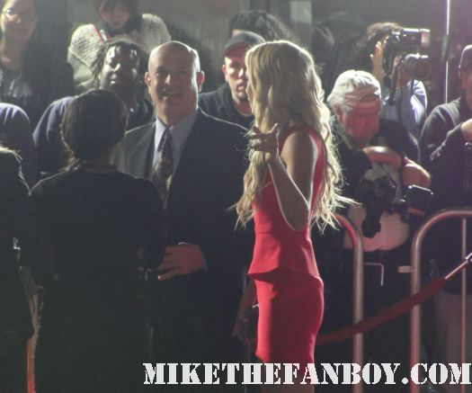 Laura vandervoort arriving to the this means war movie premiere in los angeles and signing autographs for fans sexy hot rare