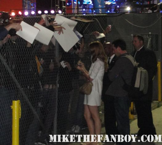 lana del rey signing autographs for fans and dealers after jimmy kimmel live in hollywood hot sexy video games singer