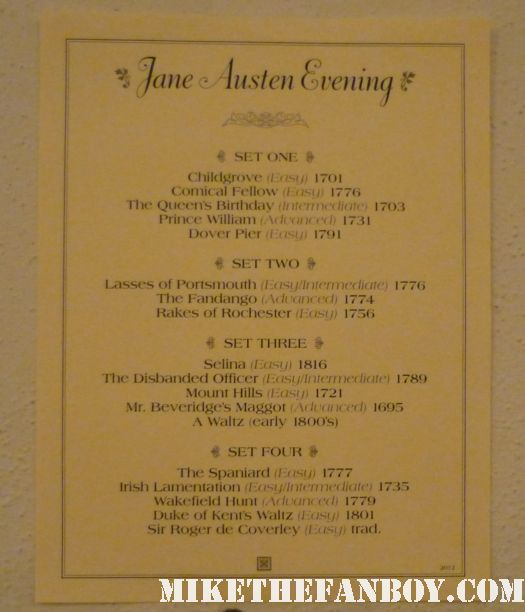 Dance List the novel strumpet from mike the fanboy putting on a tam preparing to go to the jane austin ball in los angeles put on by theSociety for Manners and Merriment in the district of Los Angeles known as Pasadena