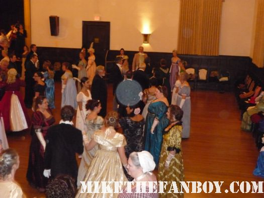 Dancing the novel strumpet from mike the fanboy putting on a tam preparing to go to the jane austin ball in los angeles put on by theSociety for Manners and Merriment in the district of Los Angeles known as Pasadena