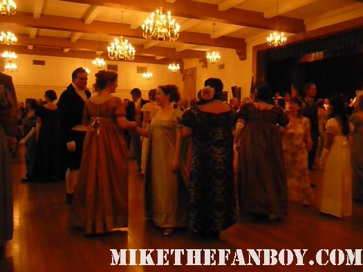 More dancing the novel strumpet from mike the fanboy putting on a tam preparing to go to the jane austin ball in los angeles put on by theSociety for Manners and Merriment in the district of Los Angeles known as Pasadena