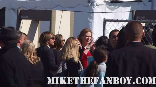 nicole kidman arriving and waving for fans at the 2011 Independent Spirit Awards 2011 the others practical magic
