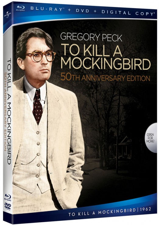 To-Kill-a-Mockingbird-Blu-ray gregory peck promo cover art atticus fitch scout 20th anniversary blu ray release