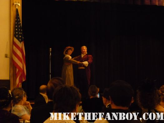 Waltzing on stage he novel strumpet from mike the fanboy putting on a tam preparing to go to the jane austin ball in los angeles put on by theSociety for Manners and Merriment in the district of Los Angeles known as Pasadena