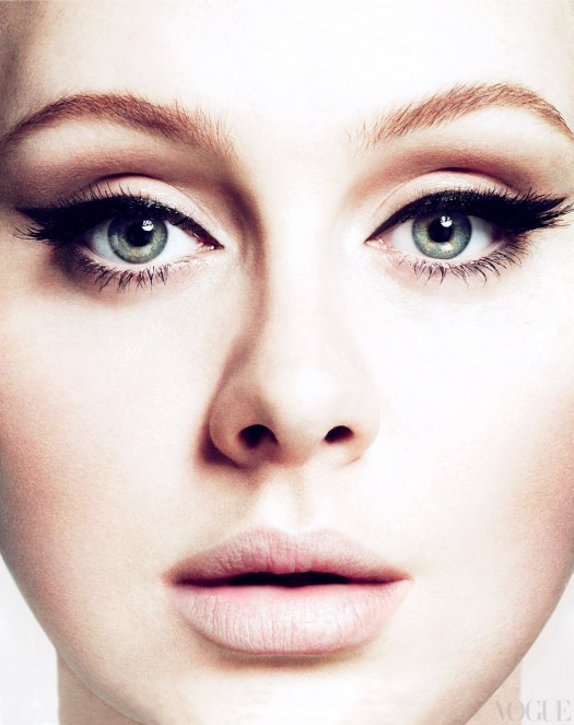 adele rare march 2012 vogue magazine hot and sexy photo shoot rare promo rumor has it single rolling in the deep promo
