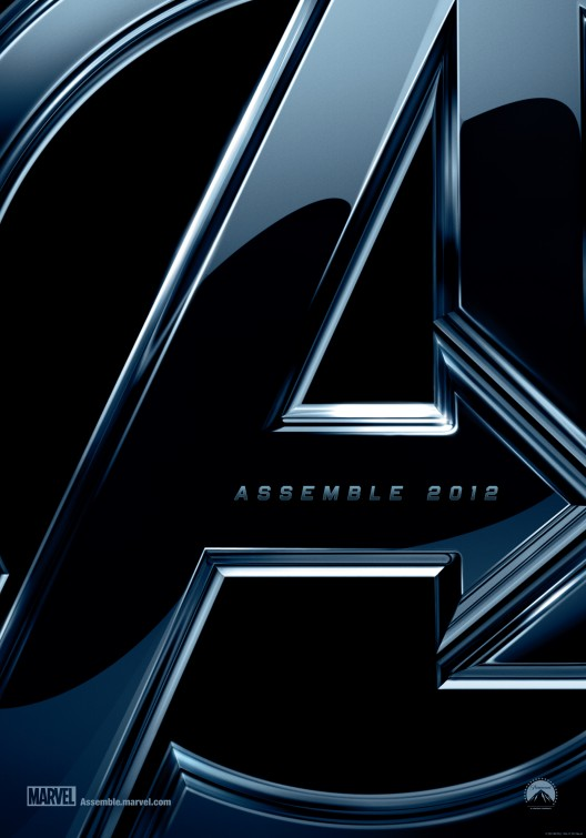 "the avengers rare promo teaser one sheet movie poster ""A"" assembe 2012 jeremy renner sexy samuel l jackson rare promo chris hemsworth"