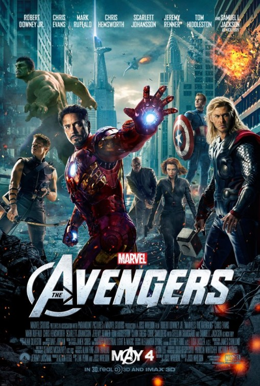 avengers_ver14 final one sheet movie poster promo the avengers marvel disney iron man thor captain america black widow hawkeye the hulk chris hemsworth