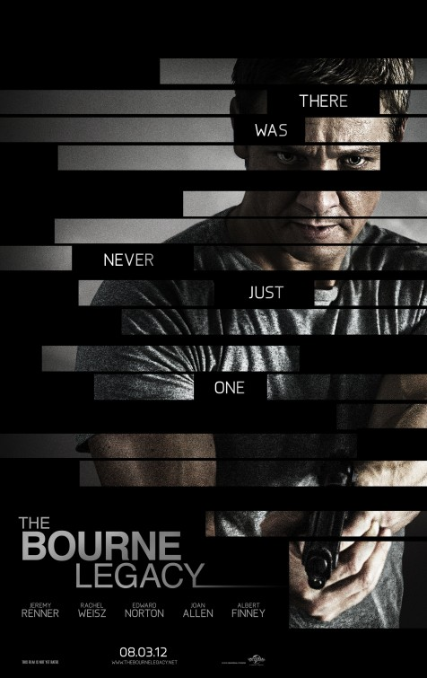 bourne_legacy jeremy renner in the bourne legacy rare promo one sheet movie poster promo hot sexy joan allen edward norton