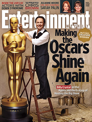 billy crystal on the cover of entertainment weekly february 2012 oscars academy awards issue february 2012 hot rare princess bride rare promo