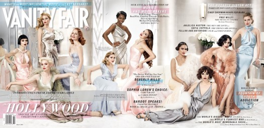 full-march-cover cn_image.size.cover_vanityfair_500 vanity fair 2012 hollywood issue with jennifer lawrence rooney mara jessica chastain Mia Wasikowska  Lily Collins
