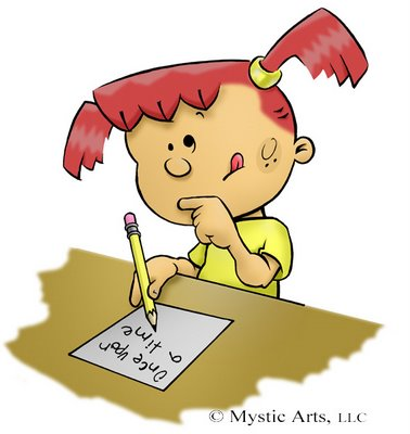 young girl writing a fan mail letter clip art rare promo hot celebrity letter writer rare proo