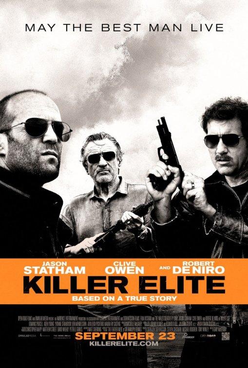 killer_elite rare promo one sheet movie poster promo clive owen jason statham robert de niro hot rare promo