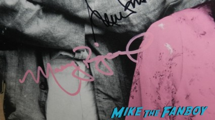molly ringwald autograph signature signed rare promo pretty in pink promo poster rare counter standee jon cryer