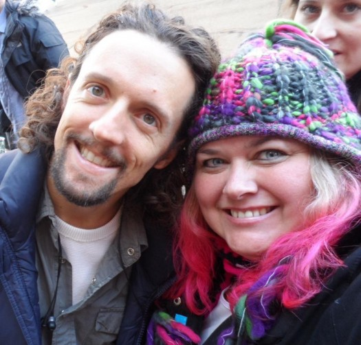 mike the fanboy's pretty in pinky with Singer Jason Mraz at the 2012 Sundance Film Festival