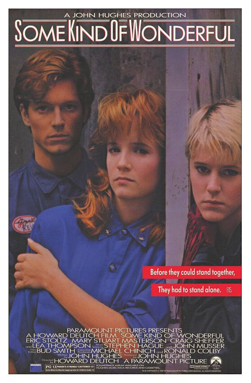 some_kind_of_wonderful rare promo one sheet movie poster mary stuart masterson lea thompson hot sexy rare