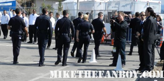 cops lined up like a cadet review at the  the Independent Spirit Awards 2012  hot sexy rare promo