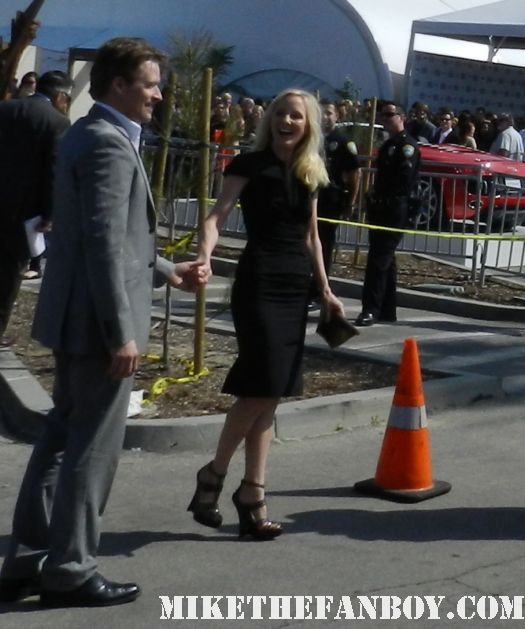 anne heche hot sexy graces fans with per presence and waves to them at the  Independent Spirit Awards 2012